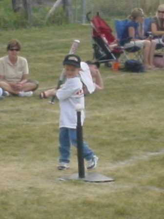 Samuel at bat