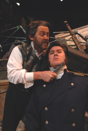 Jean Valjean and Javert