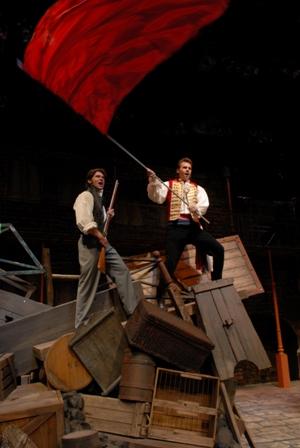 Marius and Enjolras