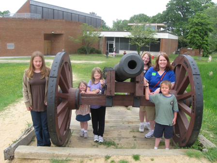 A Yorktown Cannon