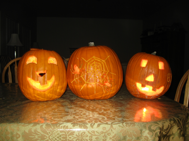 This year's pumpkin efforts