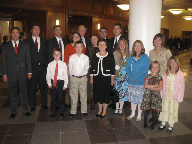 The family at Conference