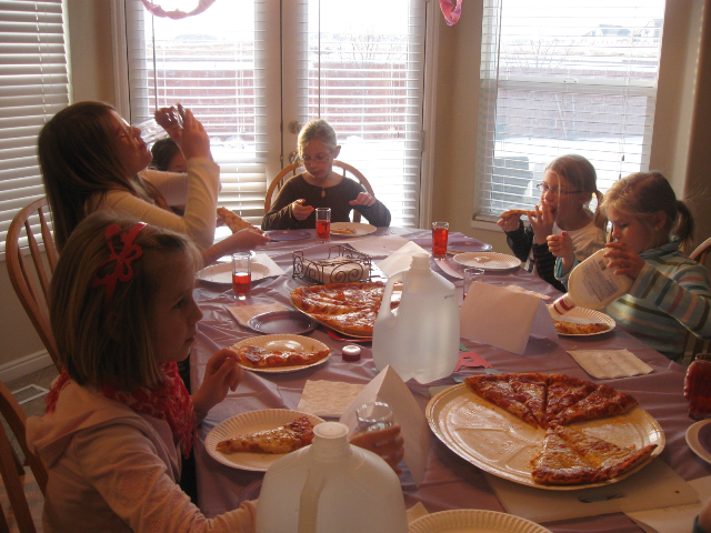What's better than a pizza party?
