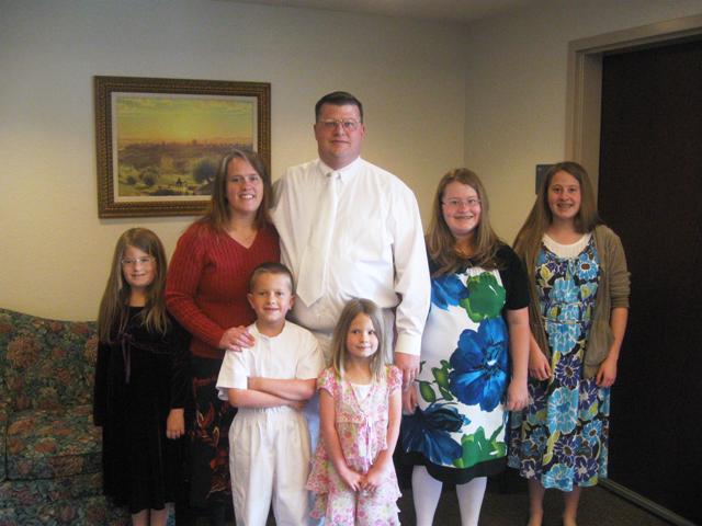 Sam's Baptism