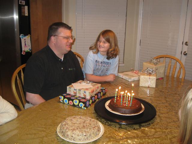 Caroline and Dad's Birthday