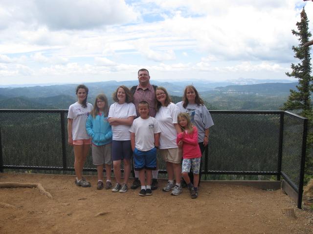 Ainhoa and family at Cedar Breaks
