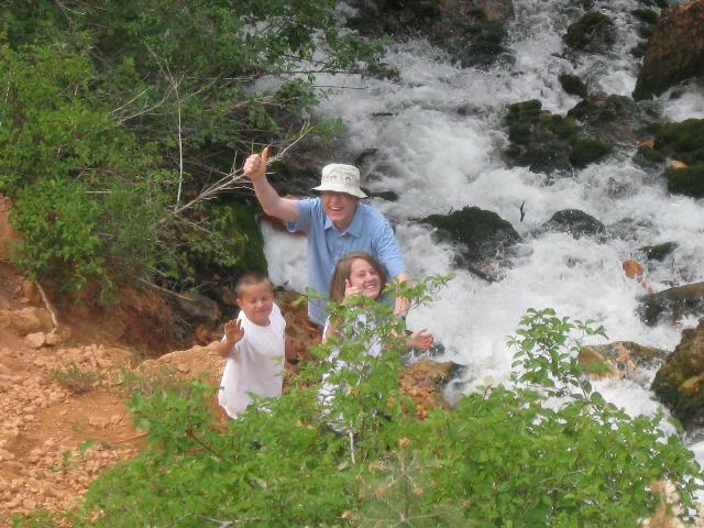 Grandpa, Sam, and Anne