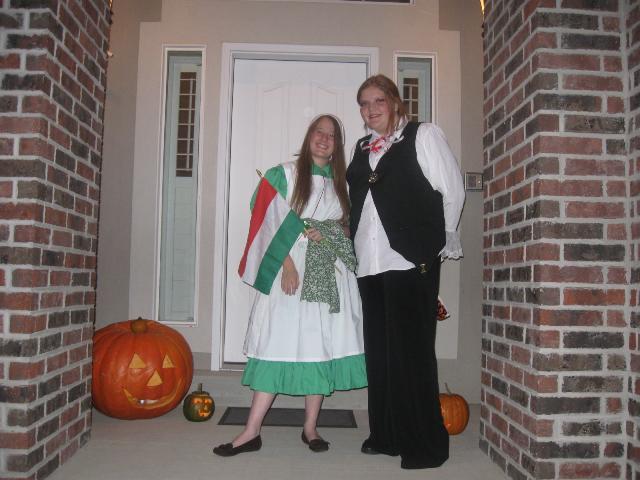 Anne as a Hungarian girl?