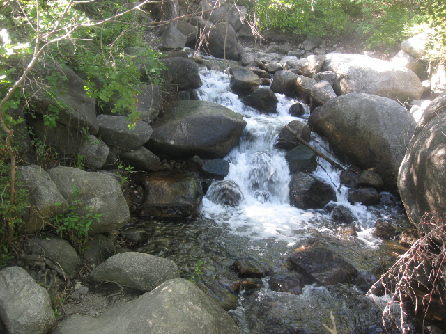 Hiking in Little Cottonwood Canyon