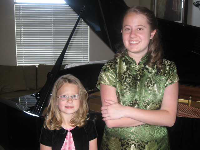 Spring recital 2012