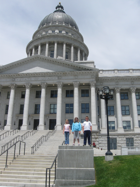 A trip to the state capitol building