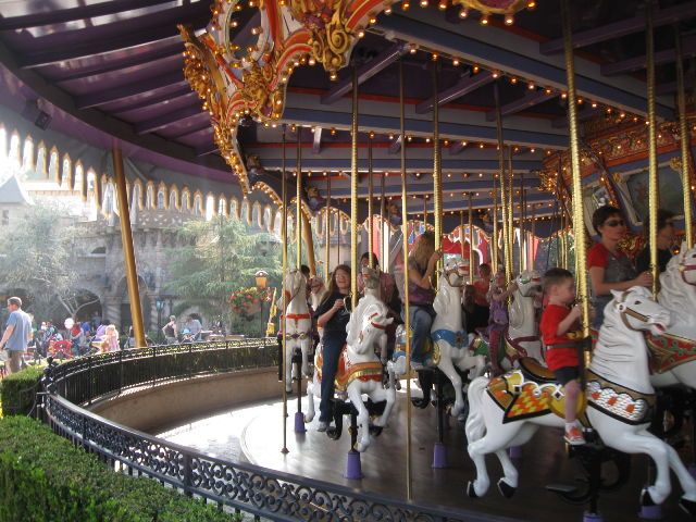 Our family has always liked carousels.