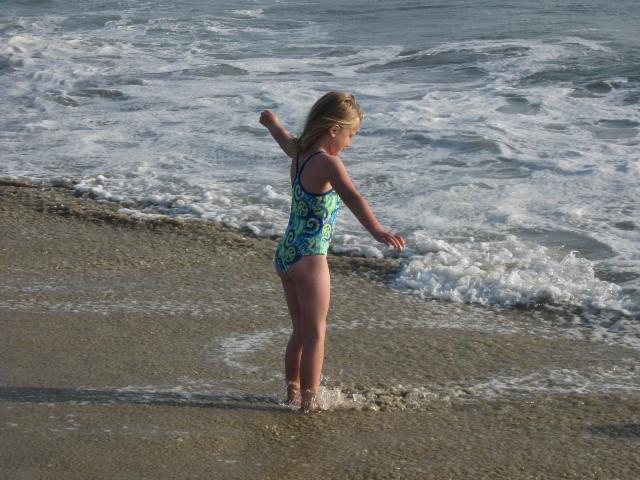 At the beach again