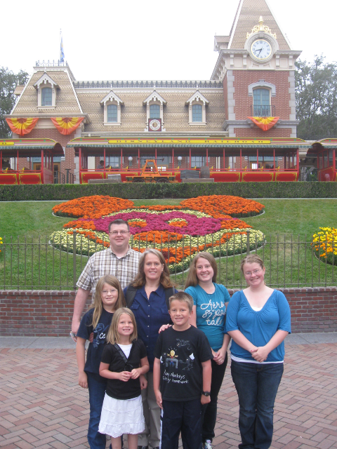 The classic Disneyland picture...