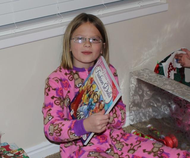 Diana on Christmas morning