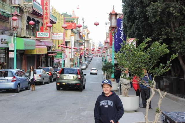 Checking out Chinatown