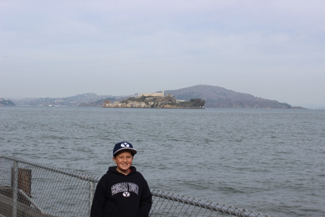 This was as close as we got to Alcatraz
